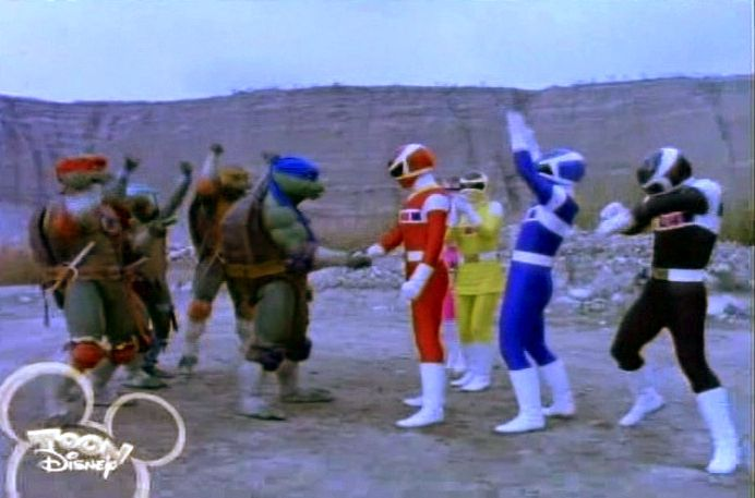 Power Rangers vs. Teenage Mutant Ninja Turtles
