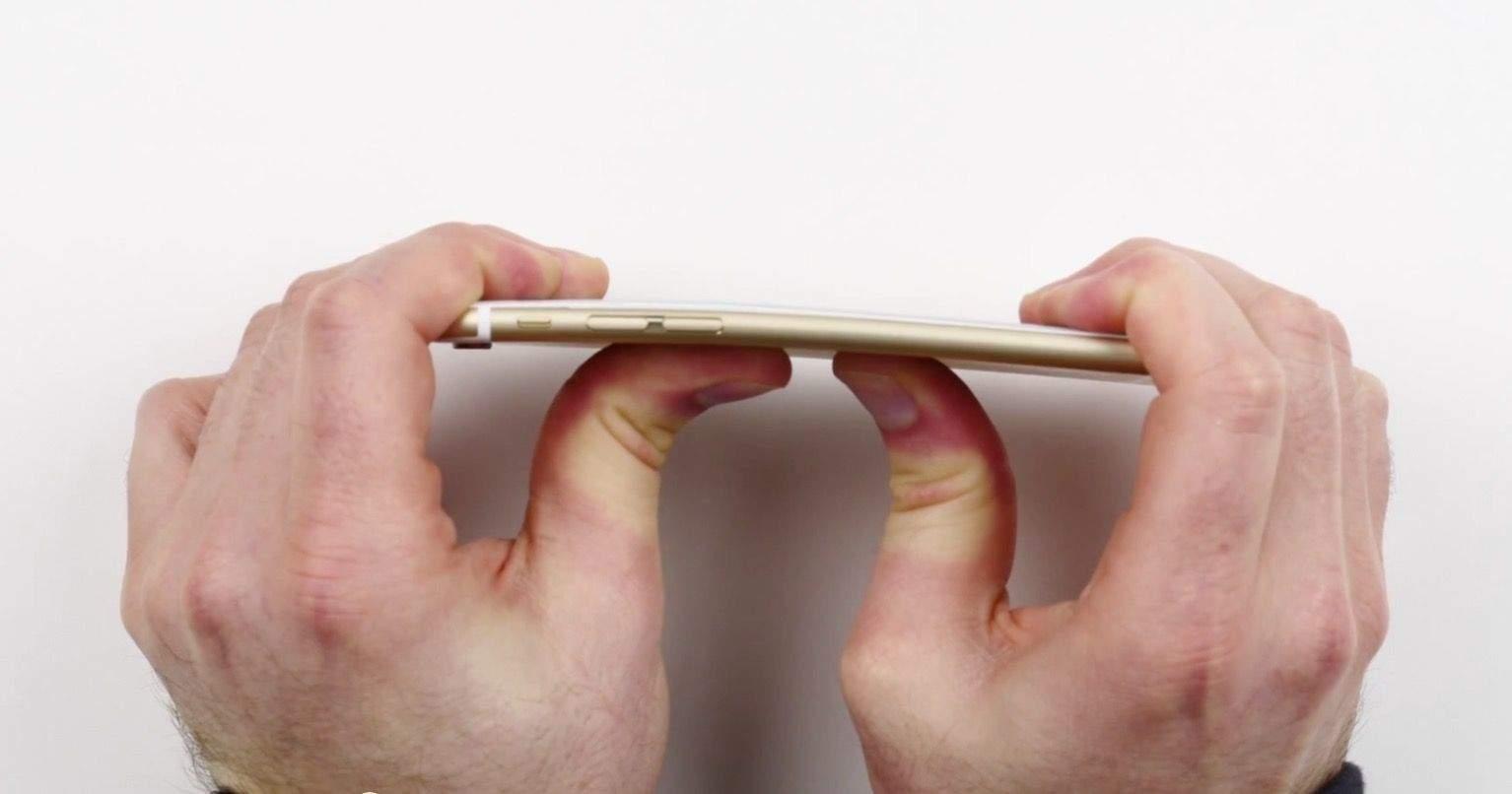 Apple wants people to stop bending its iPhones.