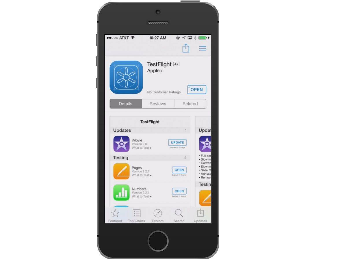 Apple's TestFlight is used to beta test apps before they're ready for prime time.