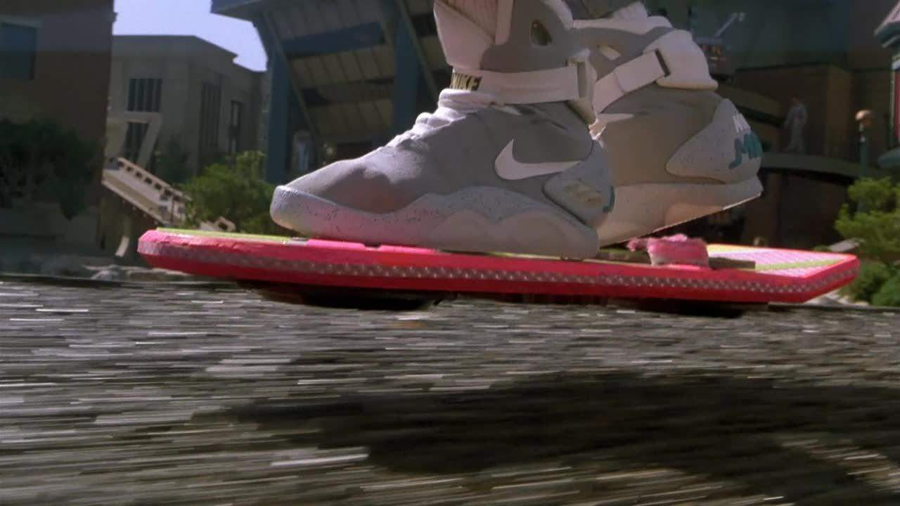 From Star Wars's Millennium Falcon to The Dark Knight's Tumbler, sci-fi and fantasy movies have given us plenty of iconic vehicles over the years. Perhaps none have inspired more viewer envy, however, than the hoverboard first used by Marty McFly in 1989's Back to the Future Part II. Enabling young Marty to zip, skateboard-like, through busy streets (but don't think about riding it over water) owning a genuine hoverboard has been the stuff dreams are made of ever since. There have been a few attempts to bring the technology into the real world, but most of these have turned out to be either crushingly disappointing hoaxes or, frankly, a bit rubbish.Hey, at least Nike has promised us Back to the Future-style self-lacing shoes for 2015. That's a start, right?(Picture:Back to the Future)