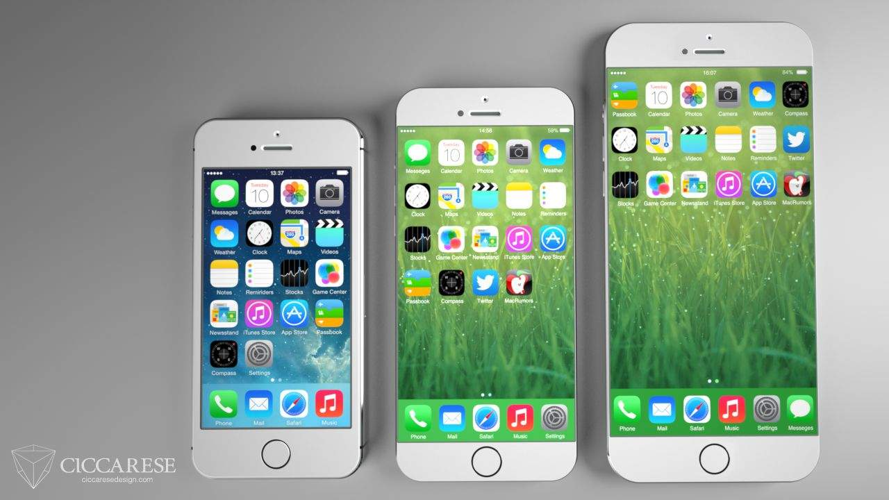 How The 55 Inch IPhone 6 Will Be Used With One Hand