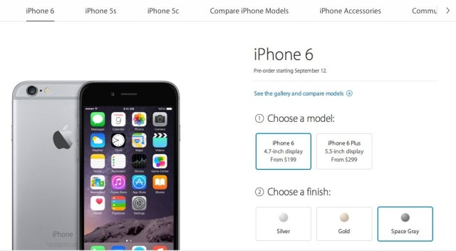 iPhone6page