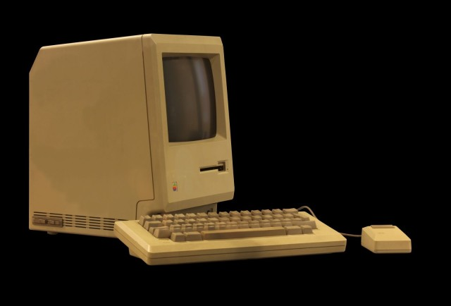 Macintosh 512k,Photo: CC Wikipedia