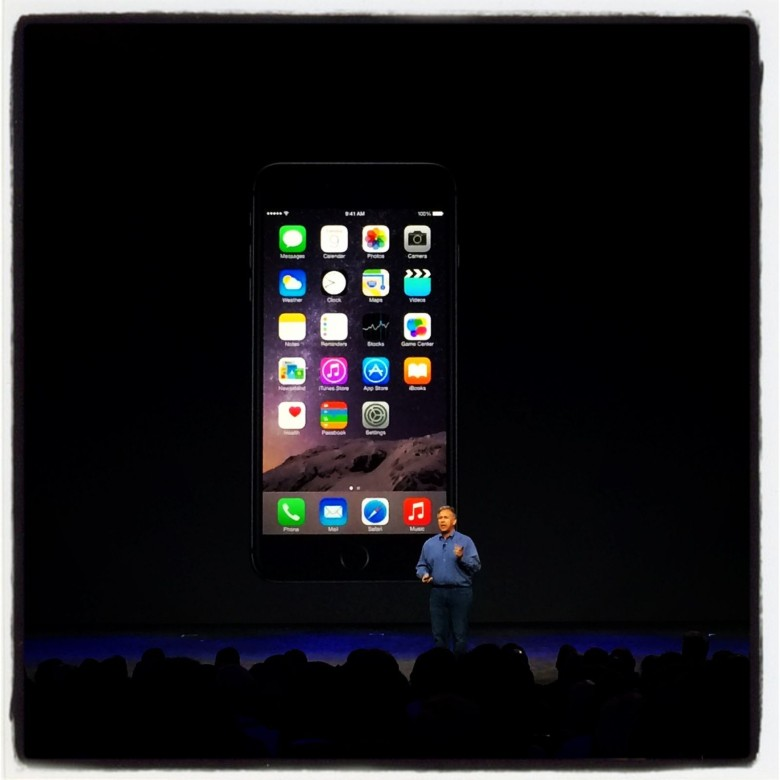 Behold, the iPhone 6