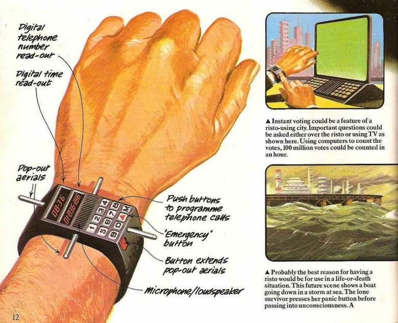 The future of smartwatches (in the '70s)