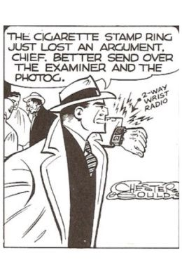 Dick Tracy's 2-Way Wrist Radio