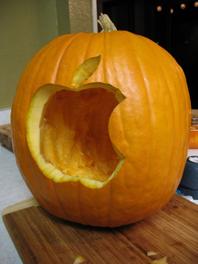 apple pumpkin carving