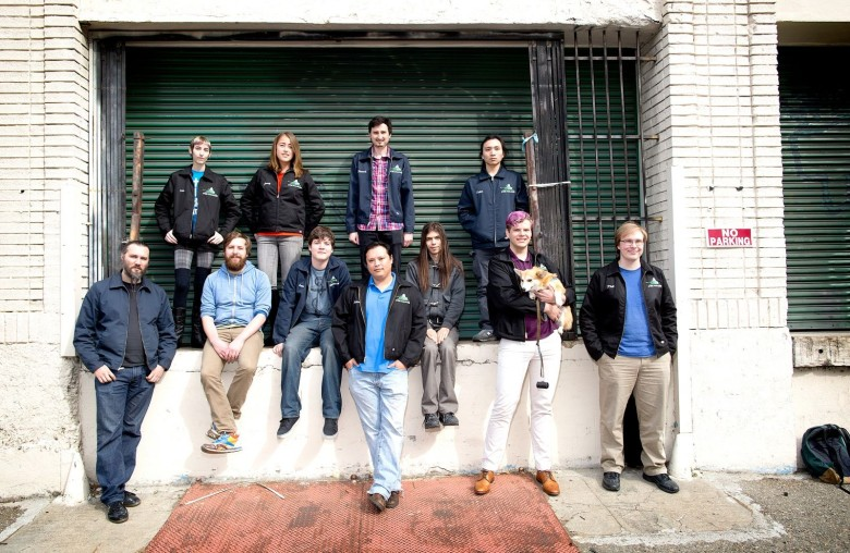 The Steel Wool Games team. Photo: Jim Merithew/Cult of Mac