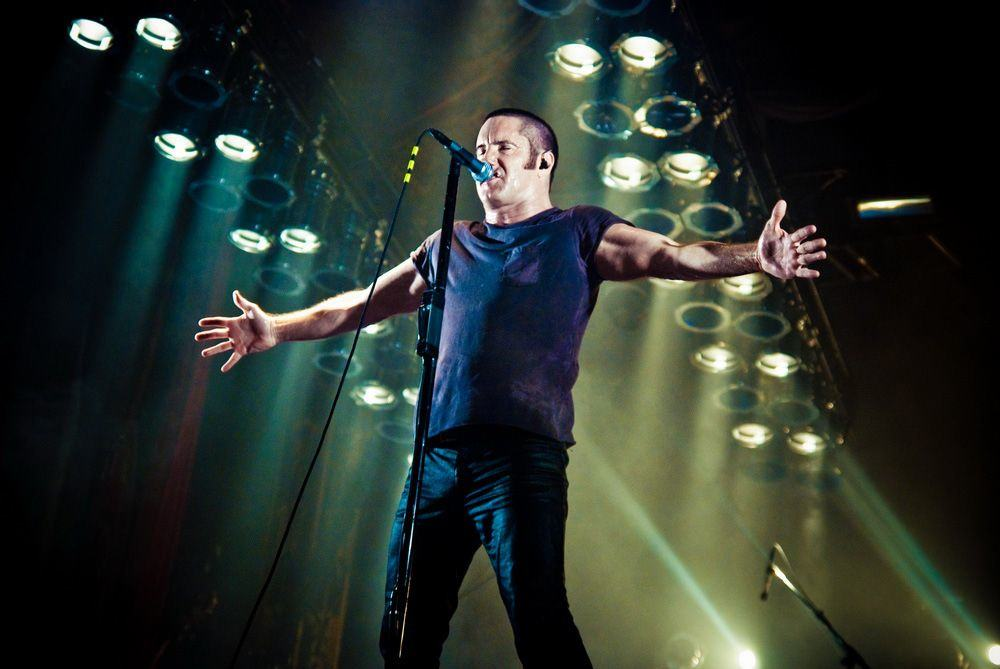 Nine Inch Nails frontman and Apple employee, Trent Reznor. Photo: Acid Polly/Flickr