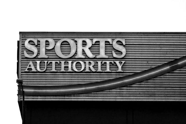 Sport Authority is Apple Pay ready. Photo: Thomas Hawk