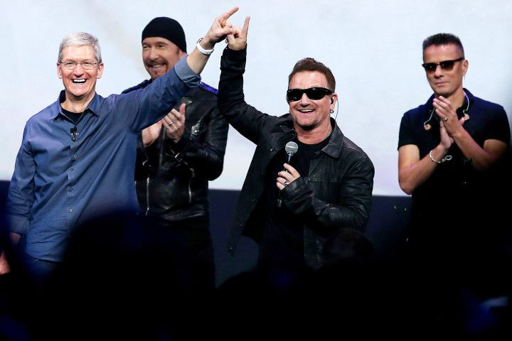 Tim Cook U2 songs of innocence release