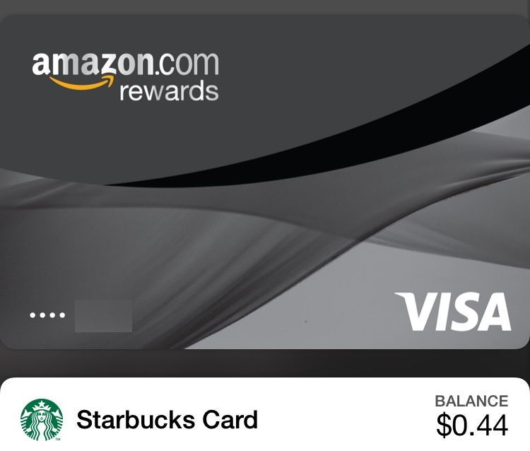 Amazon Rewards Visa in Passbook. Screenshot: Alex Heath/ Cult of Mac