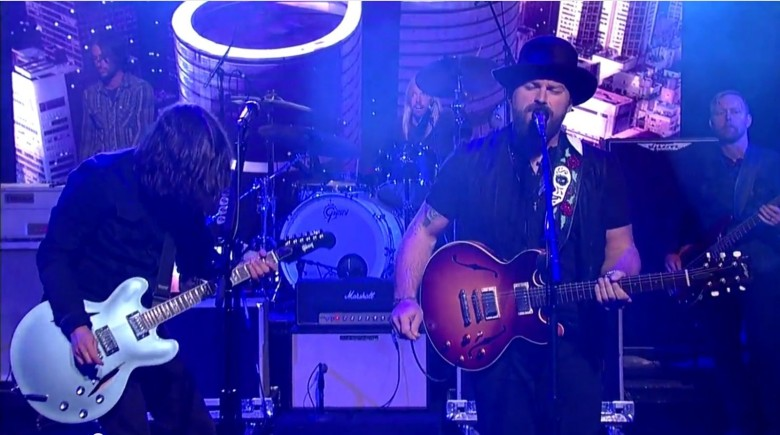 These rockers might have thrilled more people than U2 did. Screen capture: Late Night with David Letterman