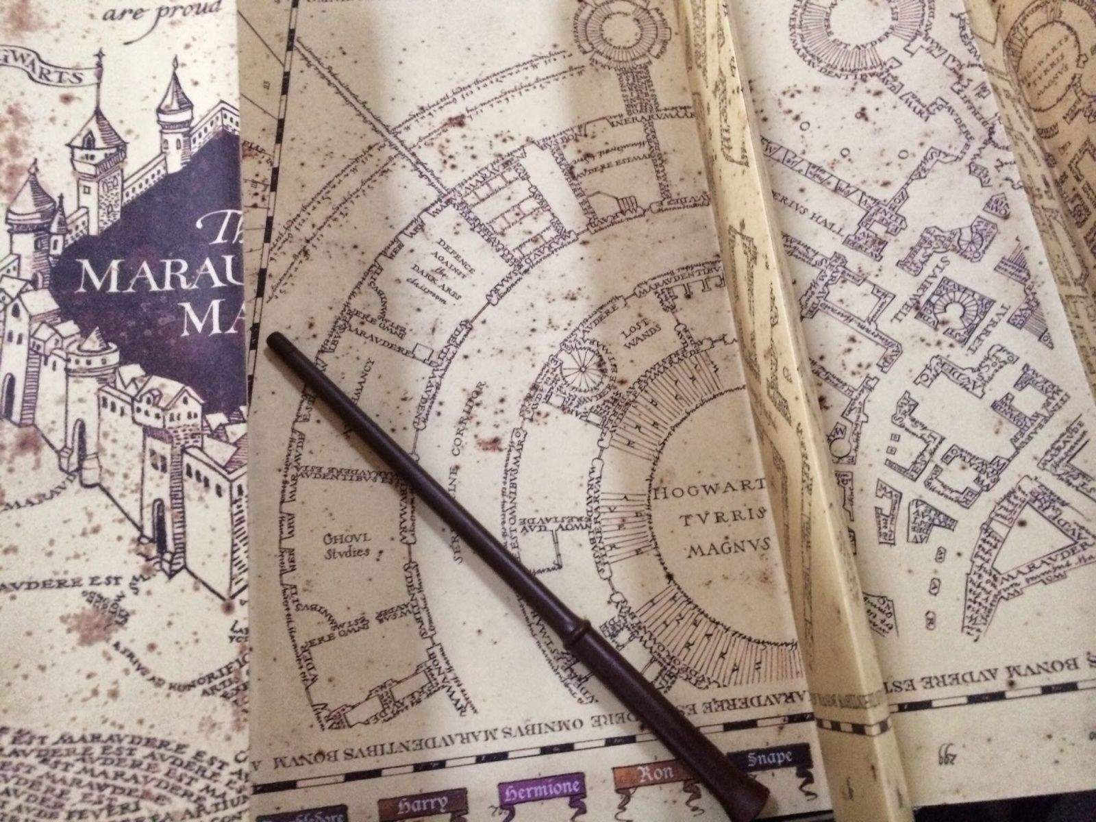 It might not quite be Harry Potter's Marauder's Map, but it's getting there. Photo: The Wizarding World of Harry Potter at Universal Orlando
