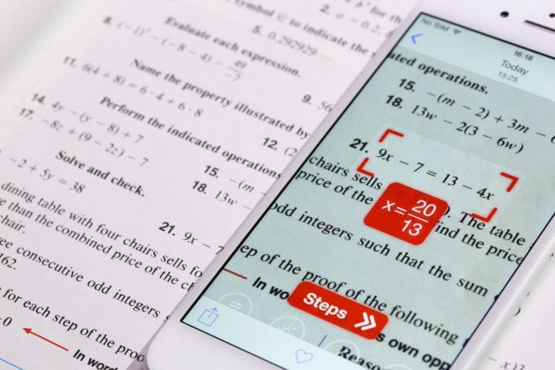 تطبيق Photomath - تطبيقات التعليم