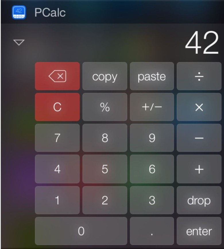 Apple Reverses Stance On Weird Ios Calculator Widget Ban