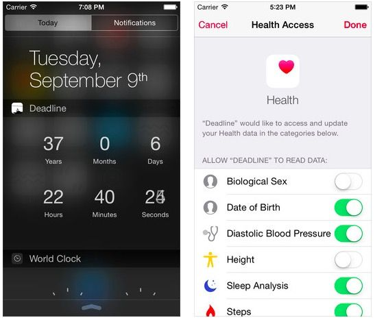 This app tells you when you're going to die. Photo: Cult of Mac