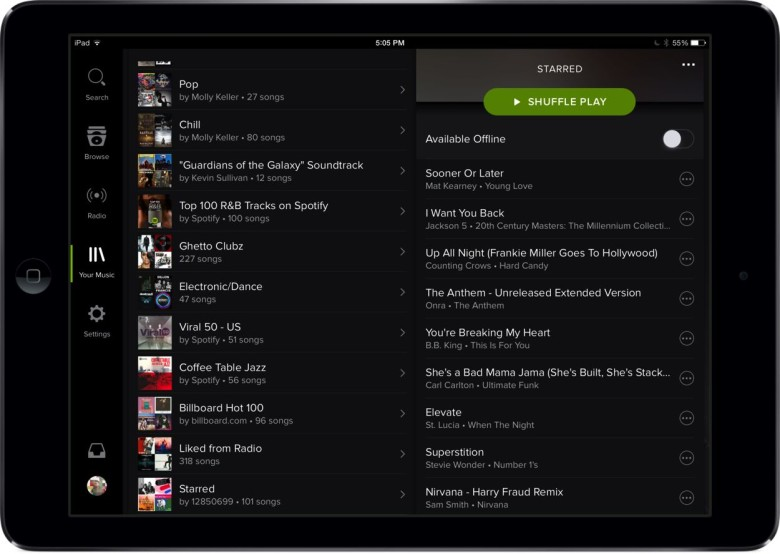 how to get spotify premium on ipad