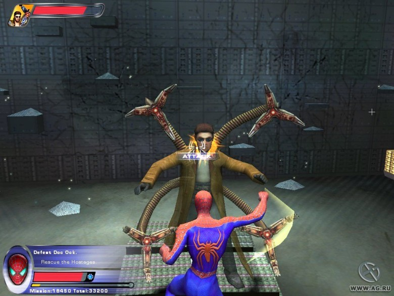 <em>Spider-Man 2</em>