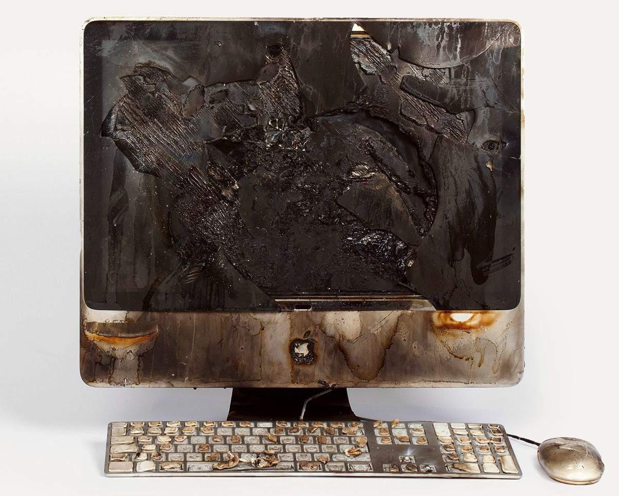 Do you like your iMac crispy? Photo: The Partners/Kevin Lan