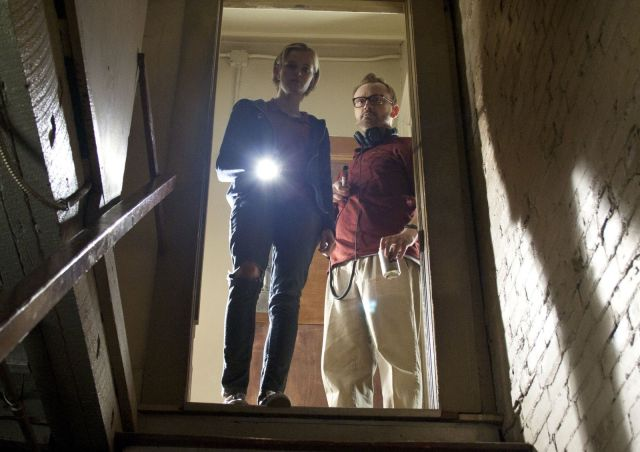 Yeah, ghost hunters. Just go on into the basement. Photo:  Dark Sky Films