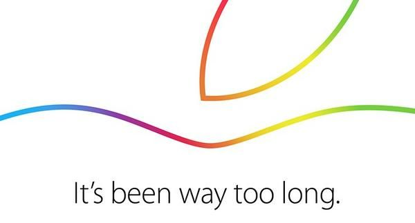 Apple has sent the press invites to an October 16th event. Photo: