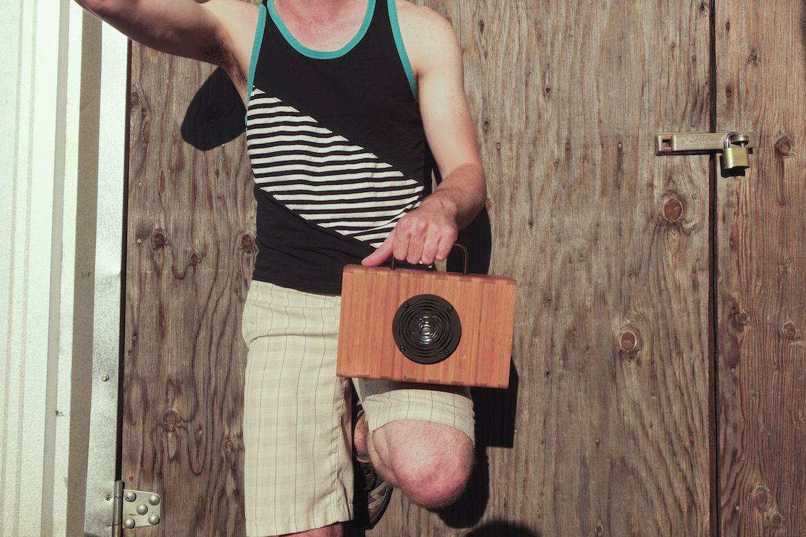 This speaker charges in minutes, plays for hours. Photo: Blueshift