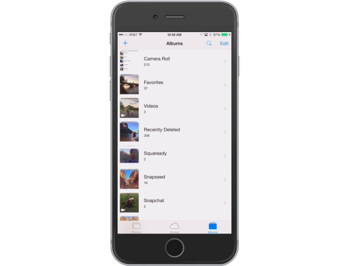 how to clear iphone camera roll