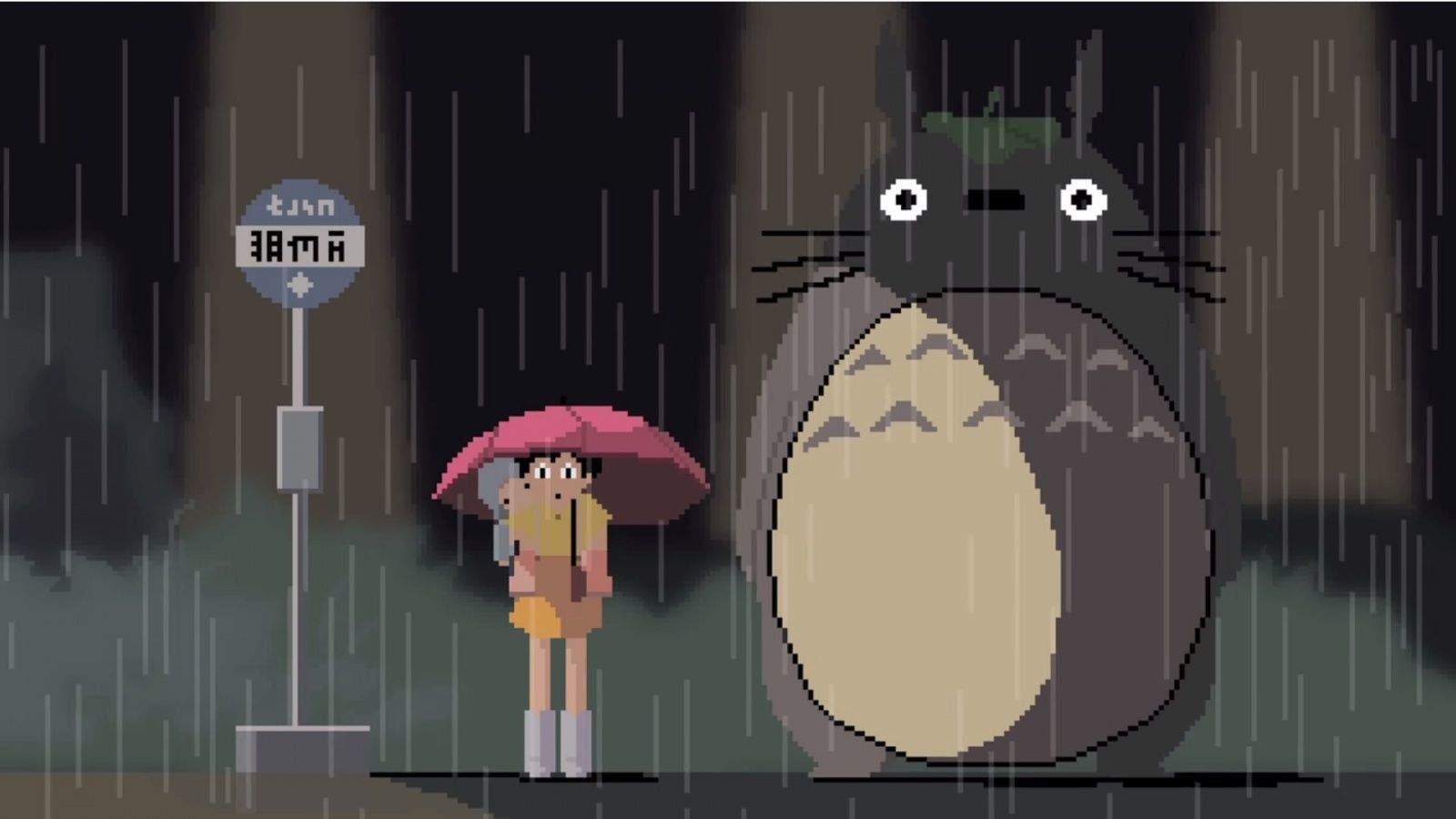 It's rainy out there for neighbors. Screengrab: Pablo Fernandez Eyre