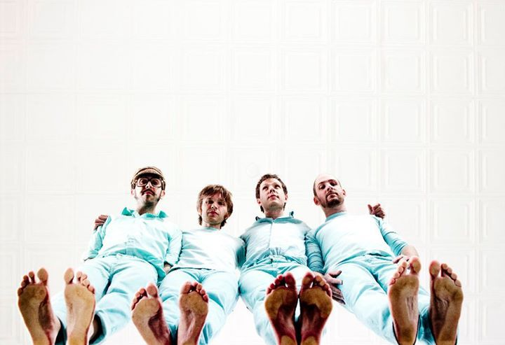The latest video from OK Go is even more OK Go than ever. Photo: OK Go