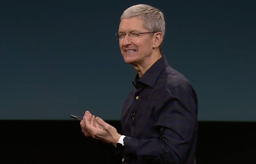 Tim Cook bores the world with even more amazing Apple products. Yawn. Photo: Apple