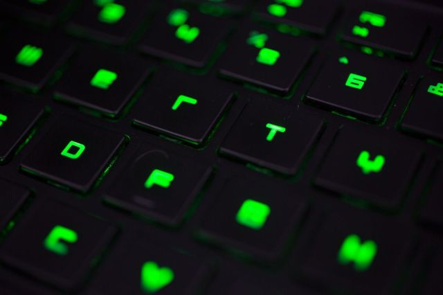 Razer gaming laptop. Photo: Jim Merithew/Cult of Mac