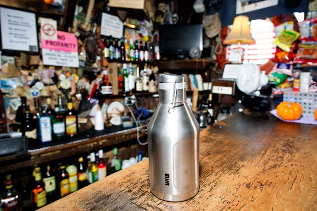 MiiR growler. Photo: Jim Merithew/Cult of Mac