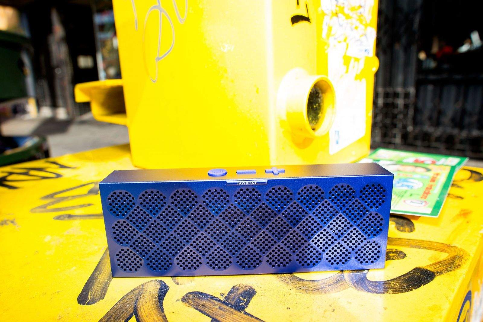 Mini Jambox pumps out the jams. Photo: Jim Merithew/Cult of Mac
