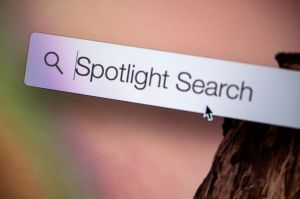 Spotlight Search. Photo: Jim Merithew/Cult of Mac