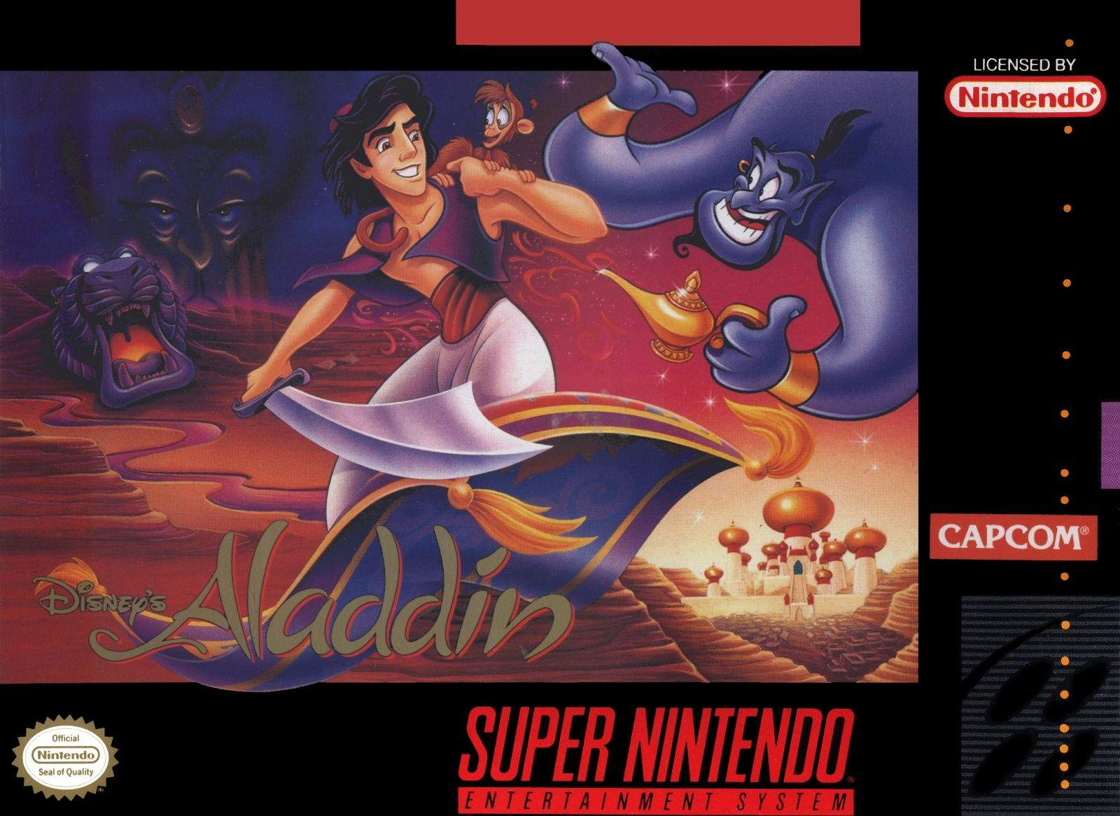 This delightfully colorful video game had kids throwing apples and leaping across dangerous bazaar stalls  to re-enact some of the crazy scenes from the Disney animated movie of the same name. The title blended some Prince of Persia gameplay with the easy-on-the-eyes color palette of the Disney hit to create a very playable video game experience.