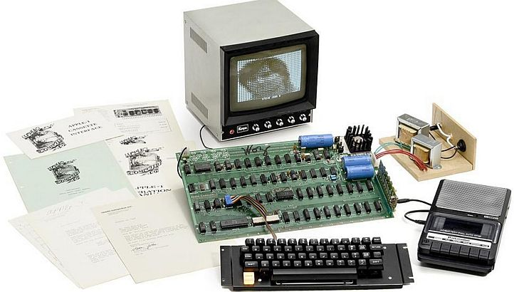 A working Apple-1 is worth a small fortune these days.