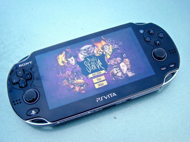 The PSVita has it all: great screen, integrated gaming ecosystem, and buttons. Photo: Rob LeFebvre/Cult of Mac
