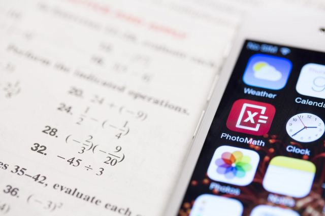 Take a picture, solve all your math problems -- not so fast. Photo: Microblink