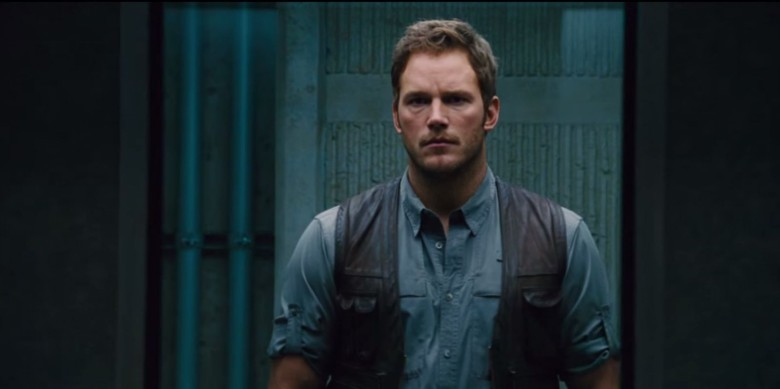 Chris Pratt seems concerned. Photo: Universal Studios