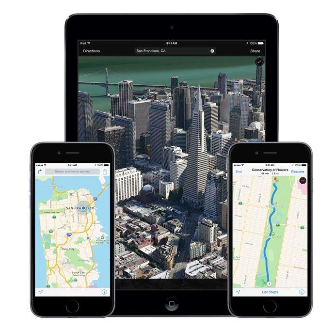 Apple Maps hits the web