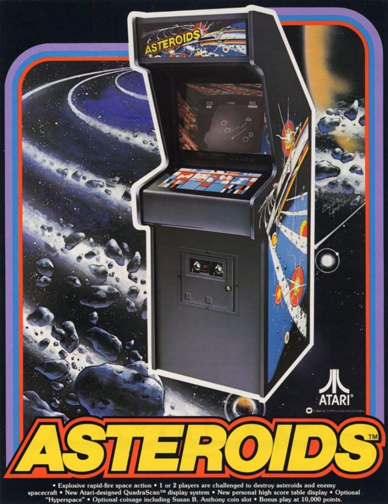 35 Year Ago: <em>Asteroids</em> (1979)