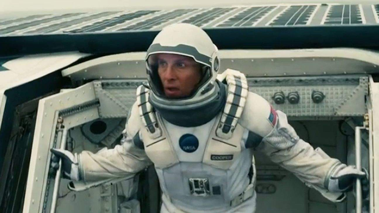 The McConaissance continues: Matthew McConaughey stars in Chris Nolan's Interstellar. Photo: Legendary Pictures