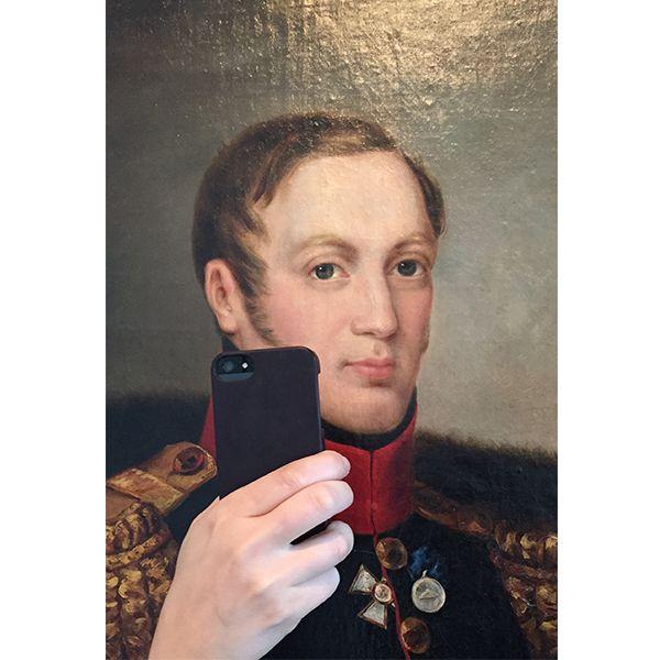 What a dashing chap. Photo: Olivia Muus/Museum of Selfies