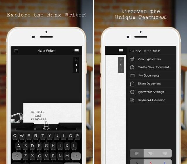 Ever wanted to turn your iPhone into a typewriter?
