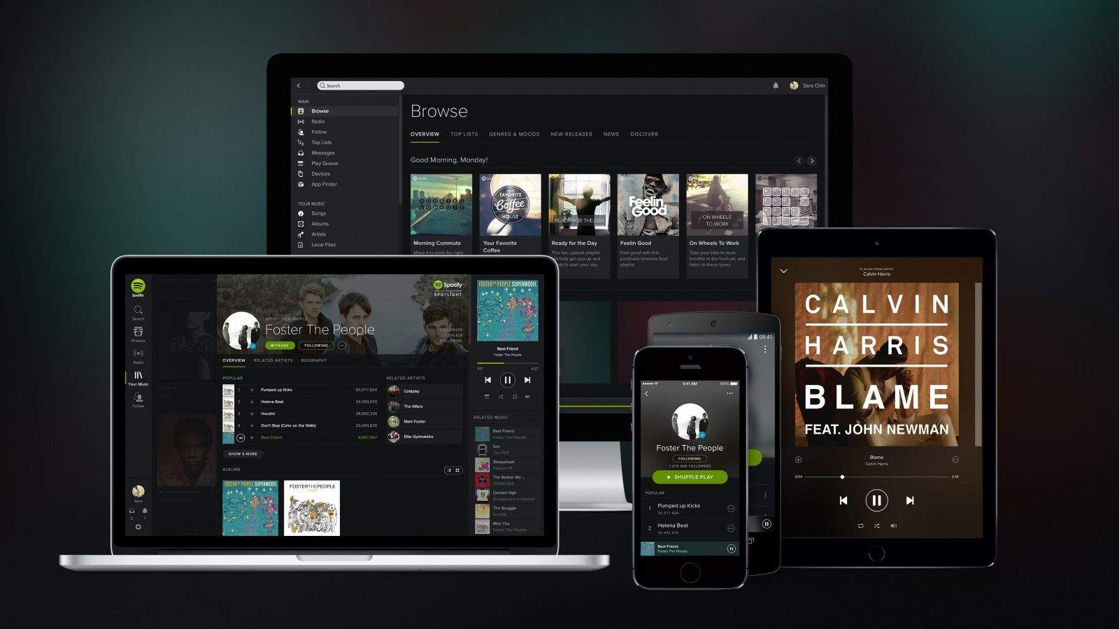 Spotify is taking what it knows about your music tastes to curate a personalized weekly playlist.
