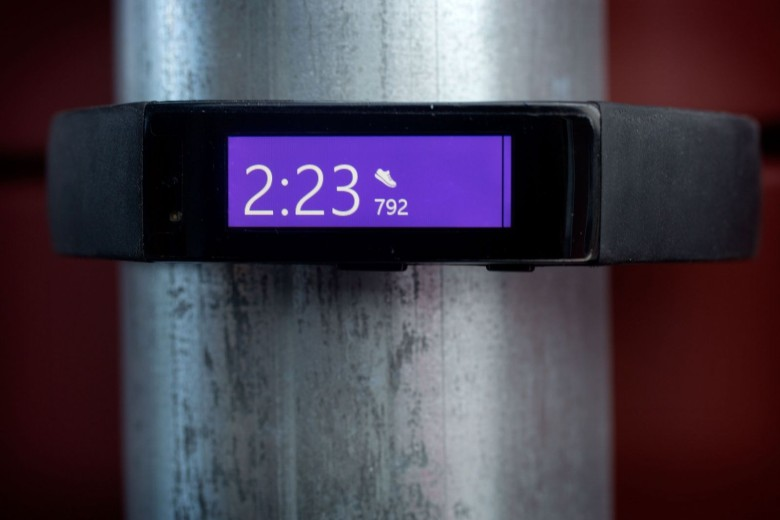 The Microsoft Band. Photo: Jim Merithew/Cult of Mac