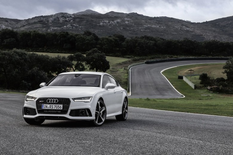 The manufacturer built its Piloted Driving prototype into an RS7 model. Photo: Audi