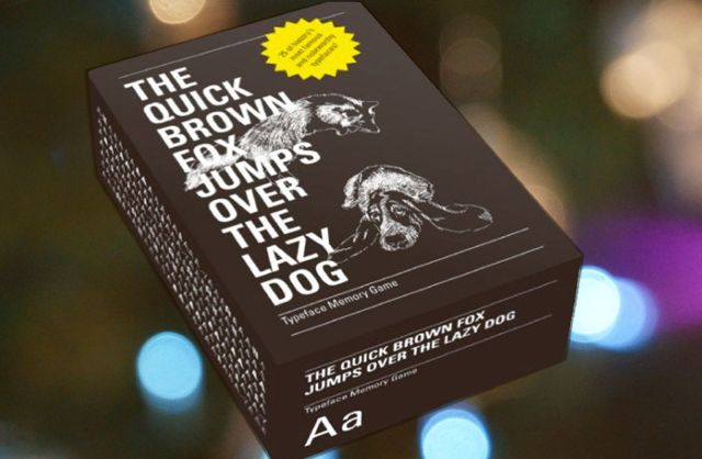 See who's the top trump with the Quick Brown Fox card game. Photo: Ste Smith/Cult of Mac