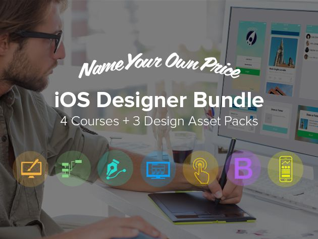Develop iOS apps with The Name Your Own Price iOS Designer